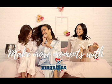 Make more moments with magniflex