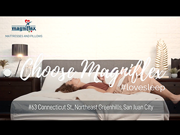 Magniflex Philippines and Nicole Hernandez's mattress with dual core technology